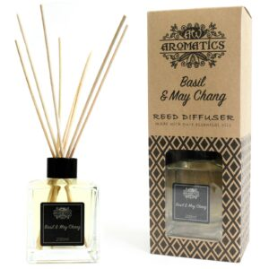 Basil & Maychang Essential Oil Reed Diffuser