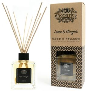 Lime & Ginger Essential Oil Reed Diffuser