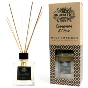 Cinnamon & Clove Essential Oil Reed Diffuser